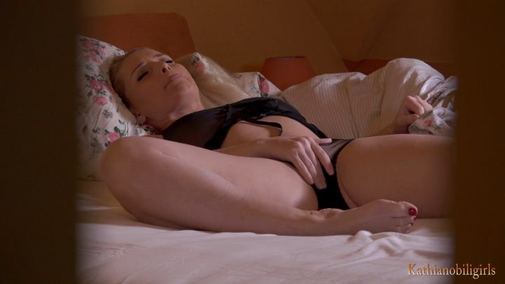 Snooping behind your mother's bedroom!!! Most exciting fantasy! - Kathia Nobili