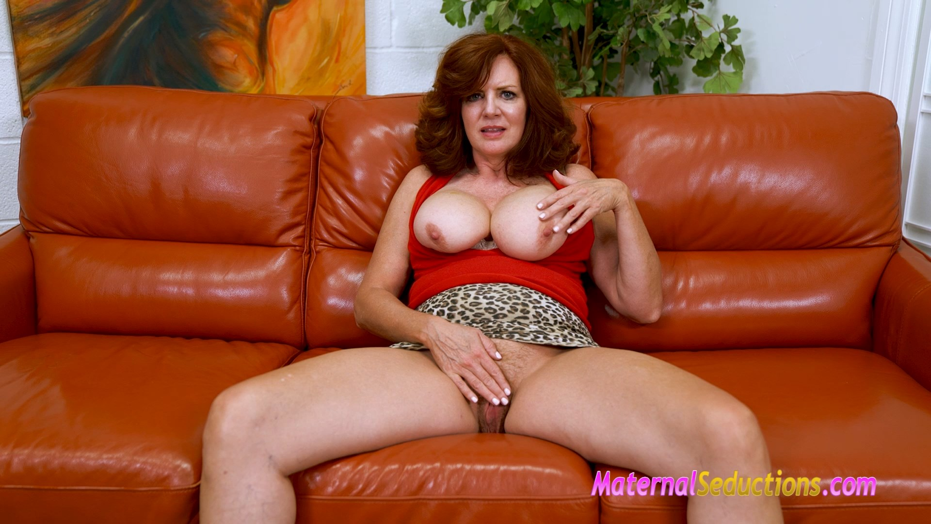 Mom Says Show Me Your Cock - Andi James