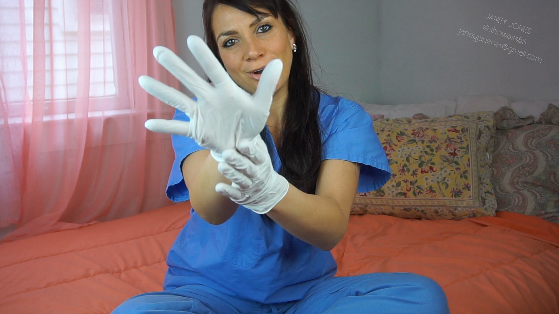 Mommy's Latex Gloves - HD - Janey Jones