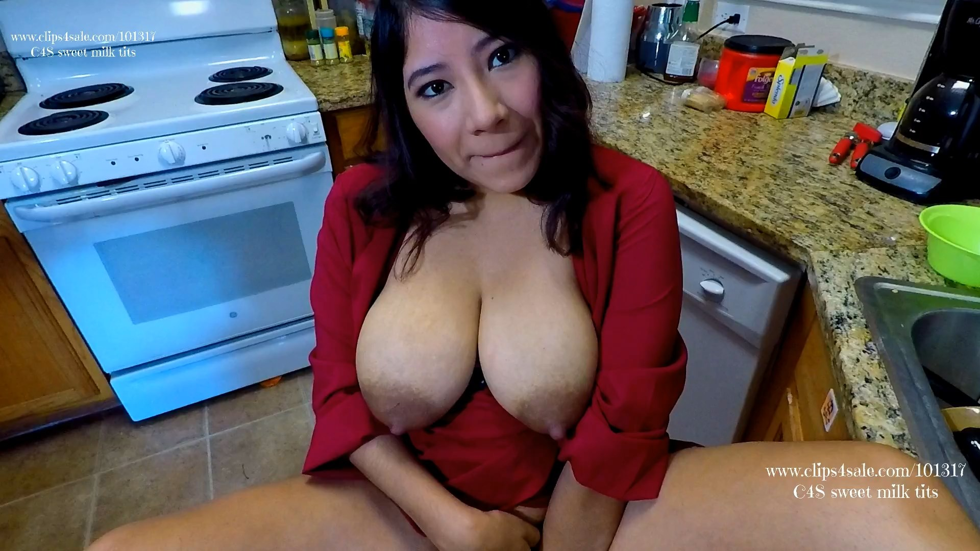 Son Your Girlfriend will never Be Mommy taboo - sweet milk tits