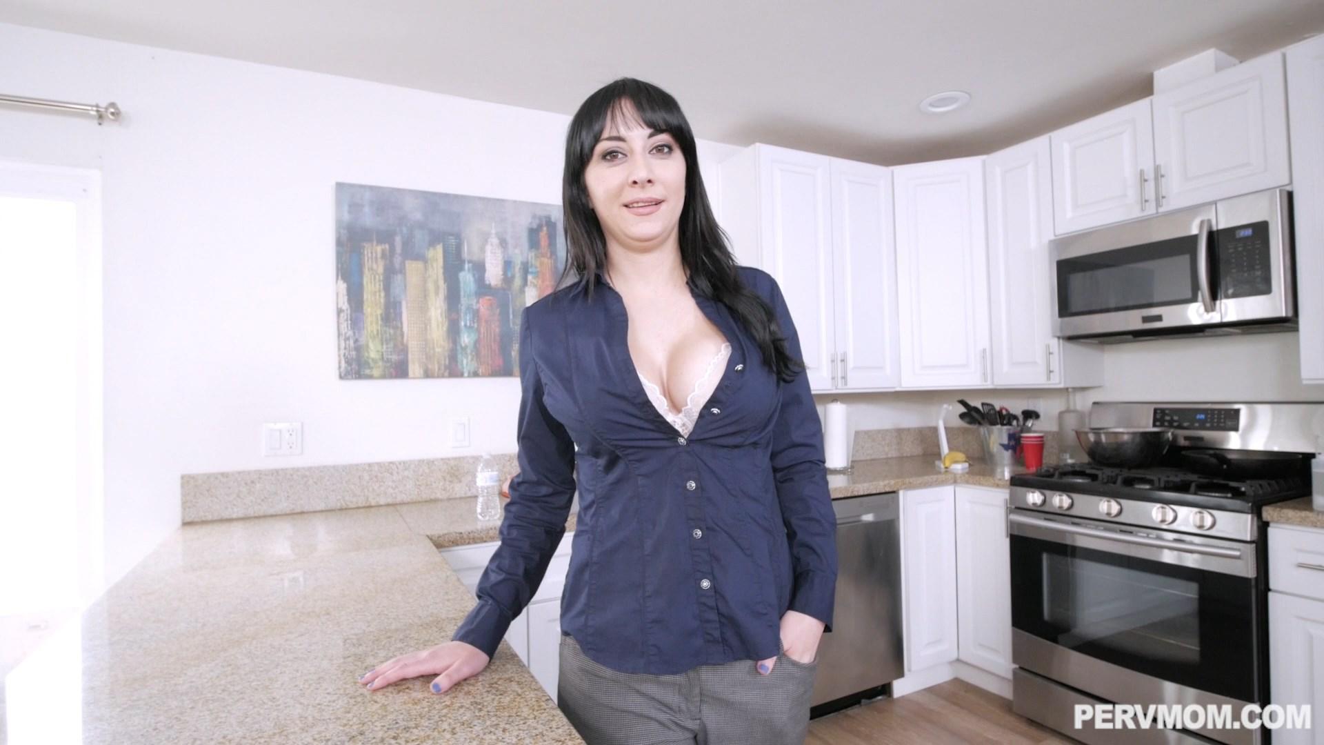 Perv Mom - Stepmom Is Working On My Dick - Alessandra Snow