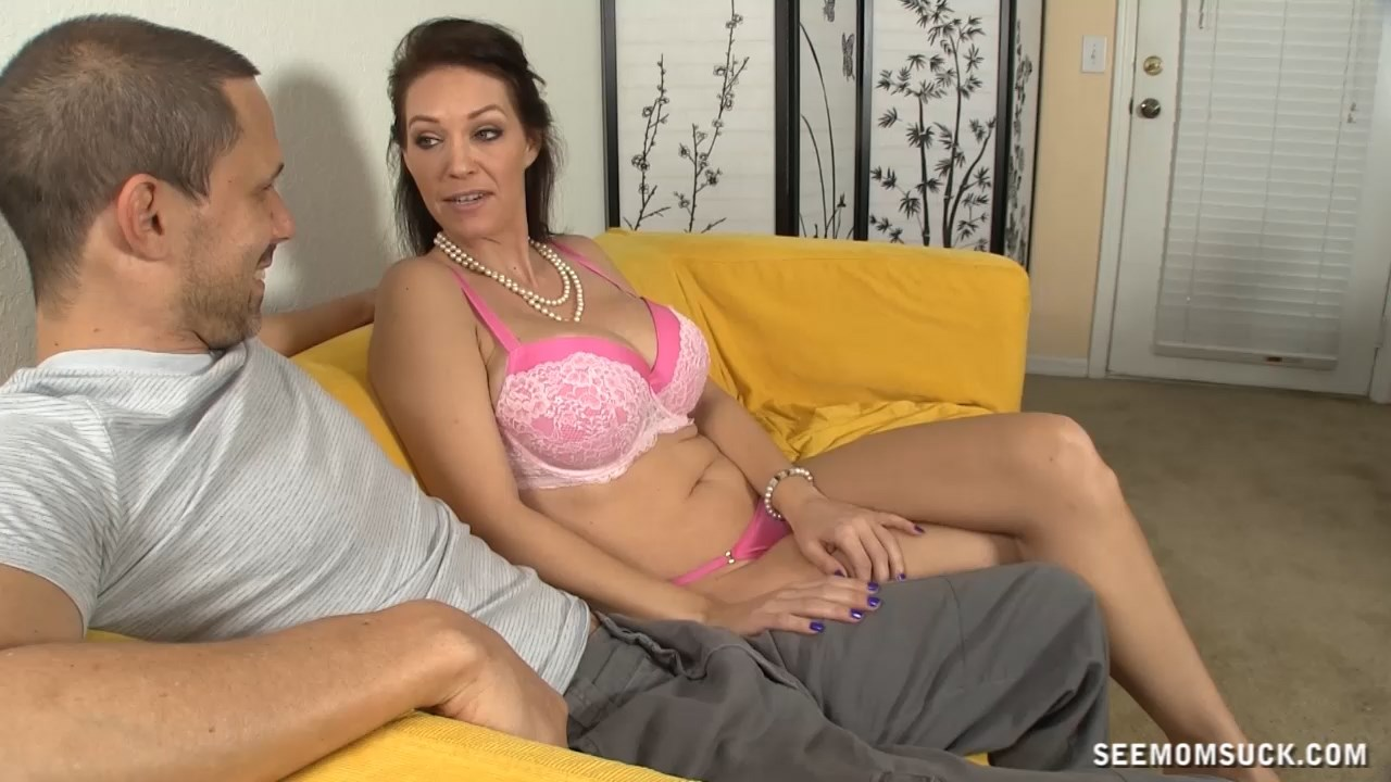 See Mom Suck - Dick Draining Mom - Charlee Chase Blowjob