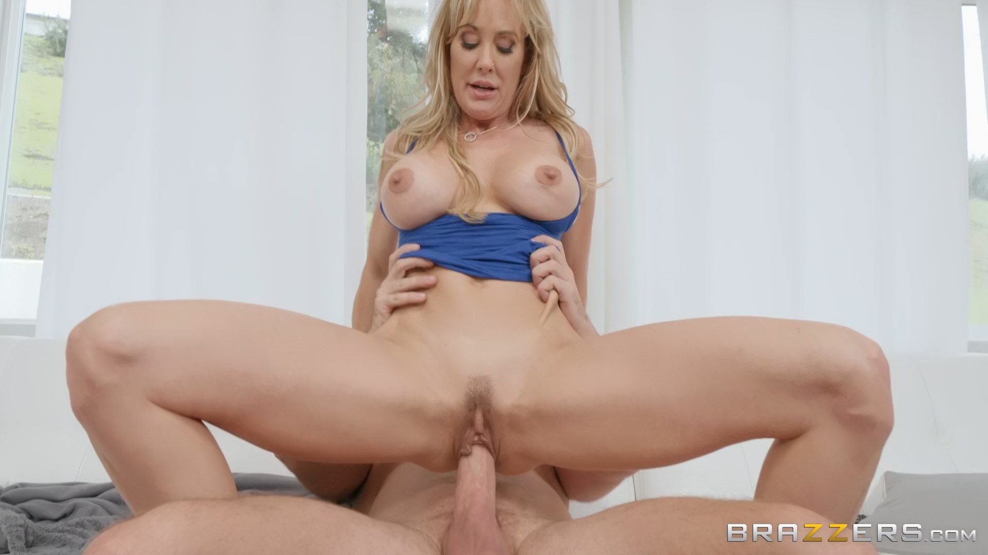 Mommy Got Boobs - Mounted By My Mother-In-Law 1080p - Brandi Love & Kyle Mason