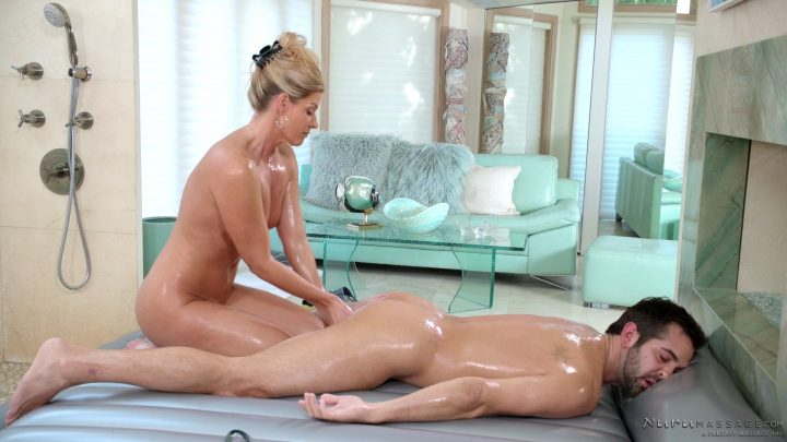 Nuru Massage – Mom's Nuru Secret – India Summer