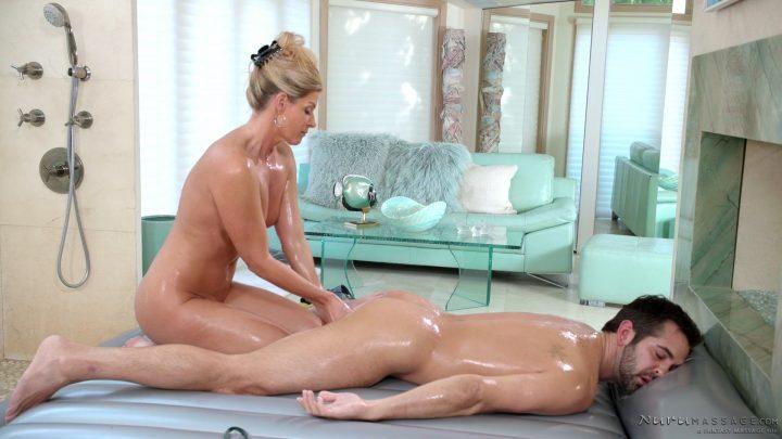Nuru Massage – Mom's Nuru Secret – India Summer