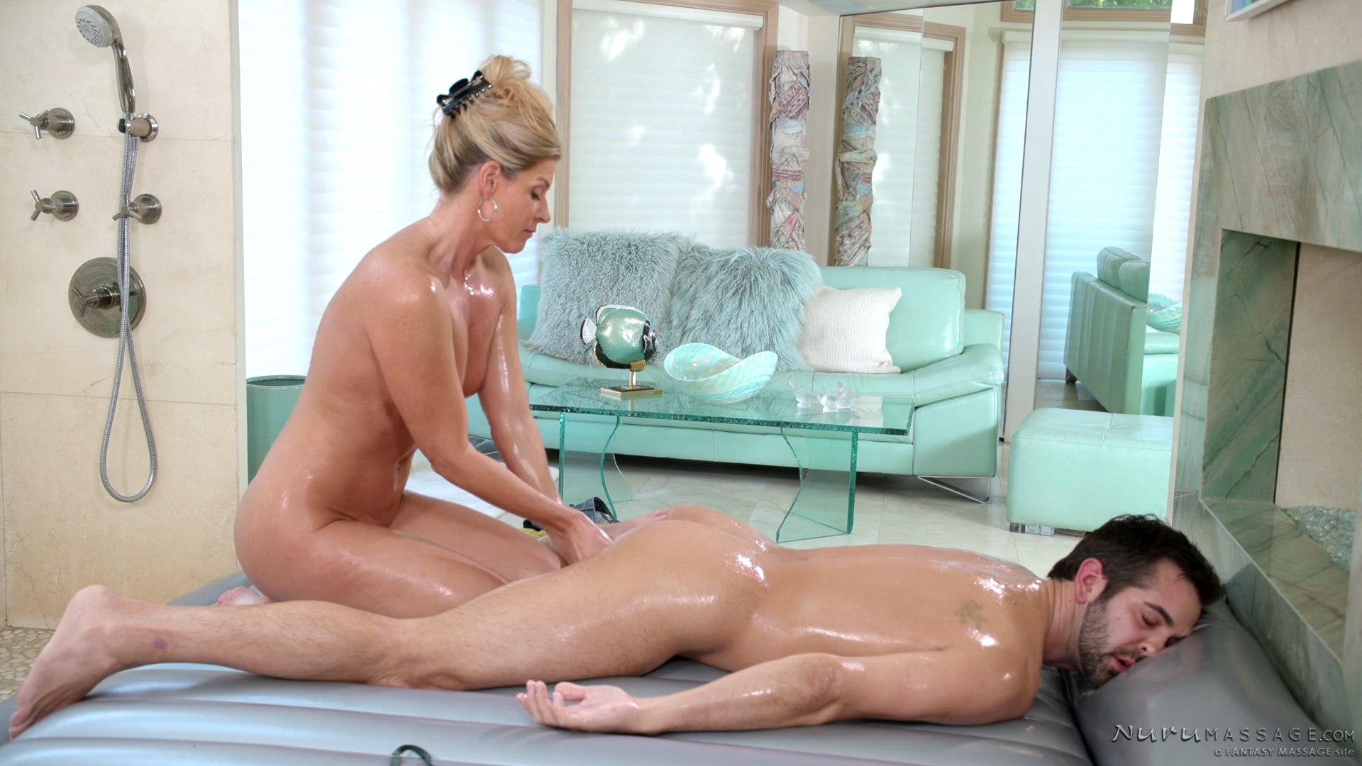Nuru Massage - Mom's Nuru Secret - India Summer