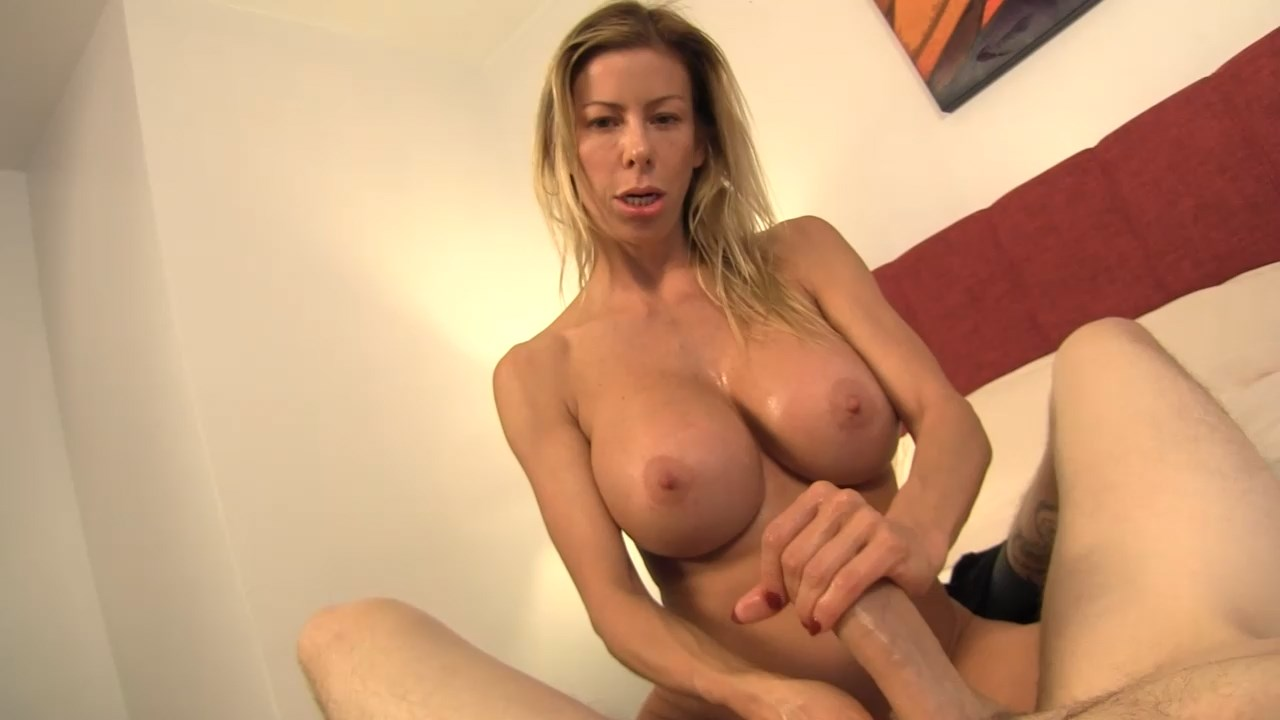 Taboo POV - My Mom made me Jerk off - Alexis Fawx