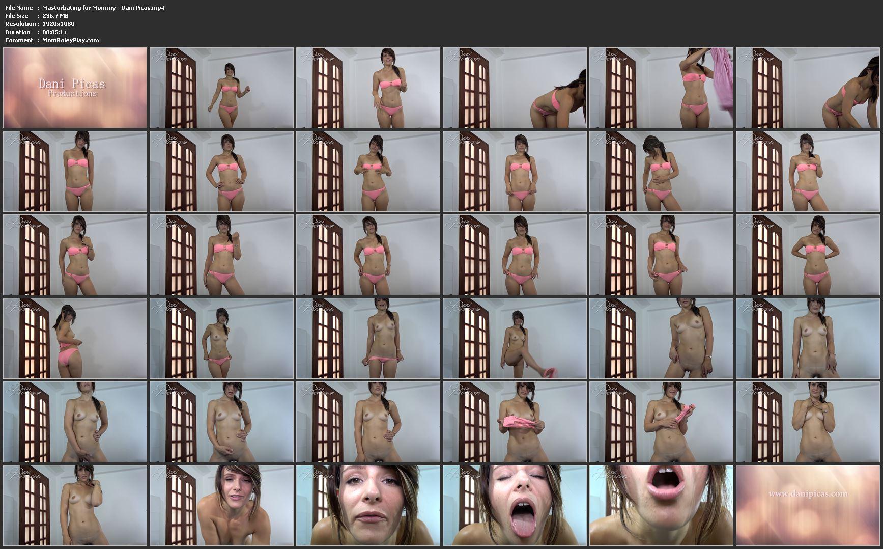 Masturbating for Mommy - Dani Picas