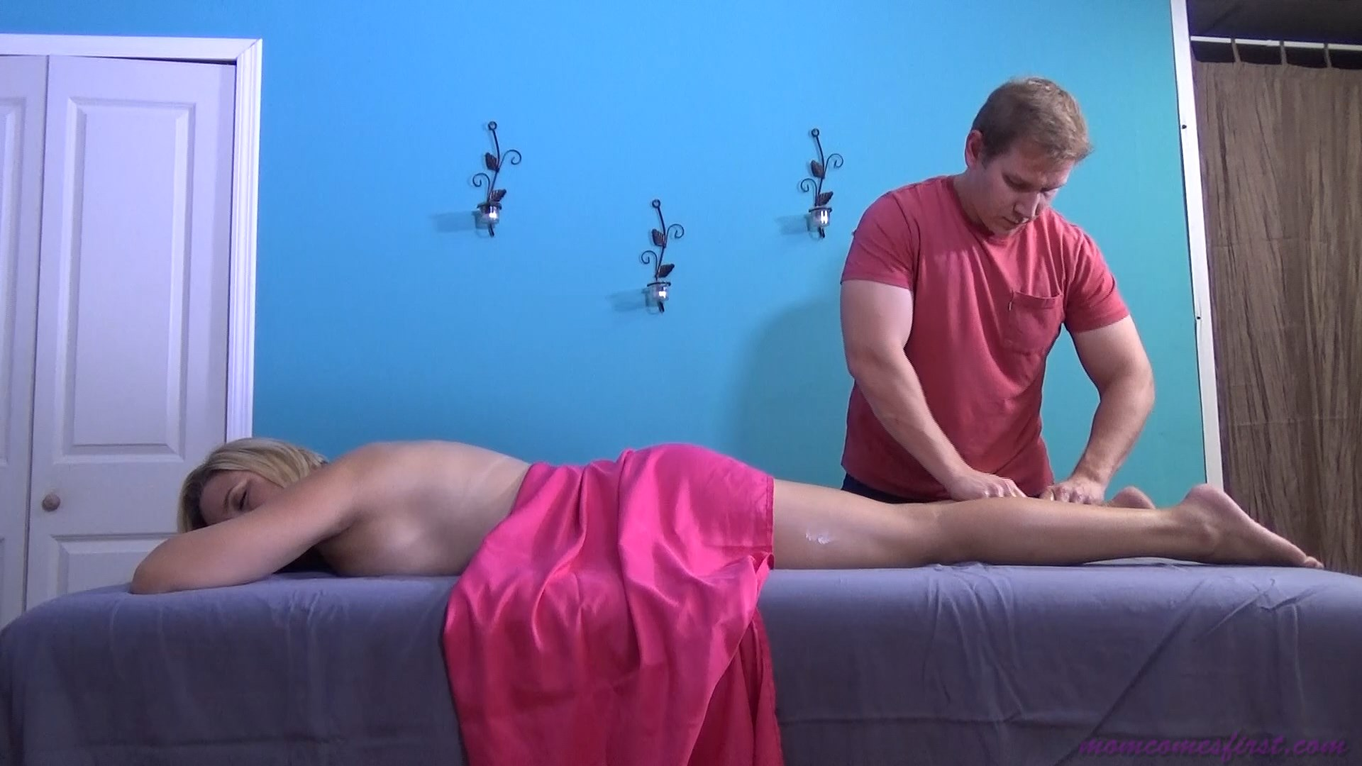Mom Comes First - Mother's First Massage From Son - Brianna Beach