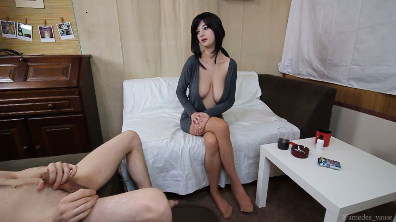 Amedee Vause - Mommy Always Helps - Buxom Mom helps son with his Boner Trouble