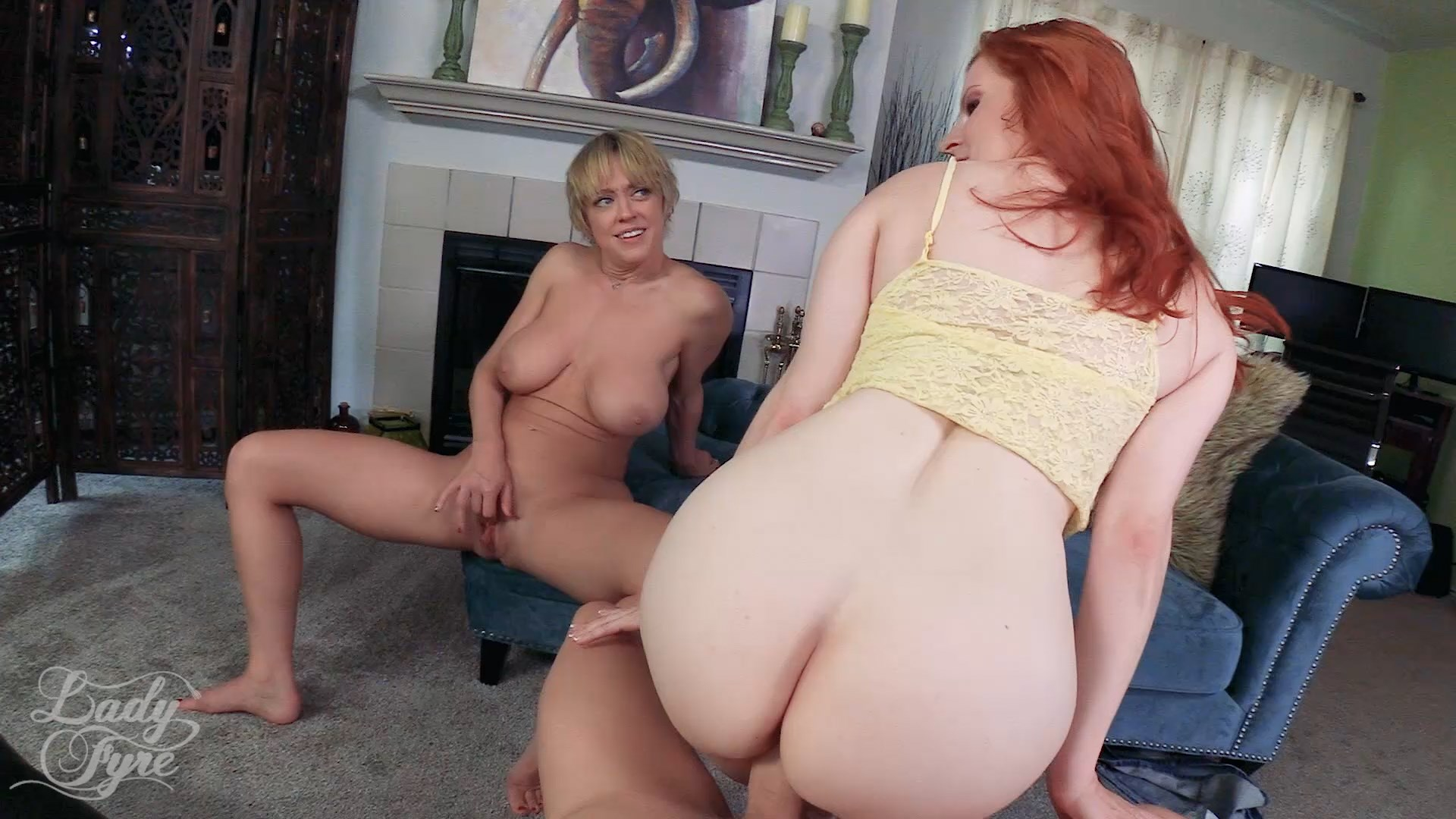 Lady Fyre Femdom - Mom Made Me Impregnate Aunt Dee - Lady Fyre and Dee Williams