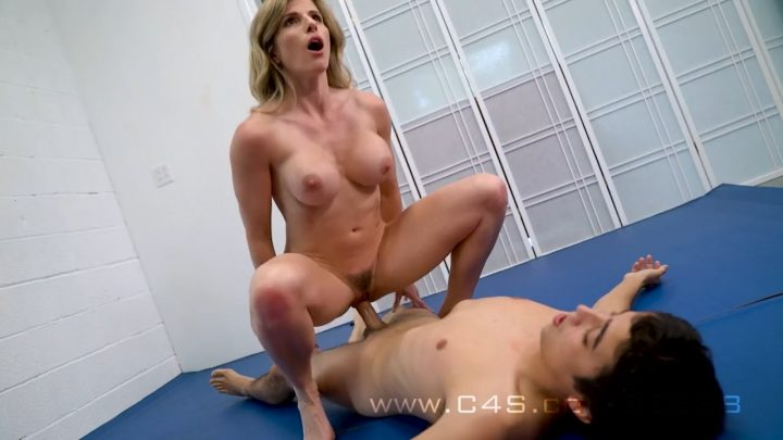 Breast Smother Mixed Wrestling