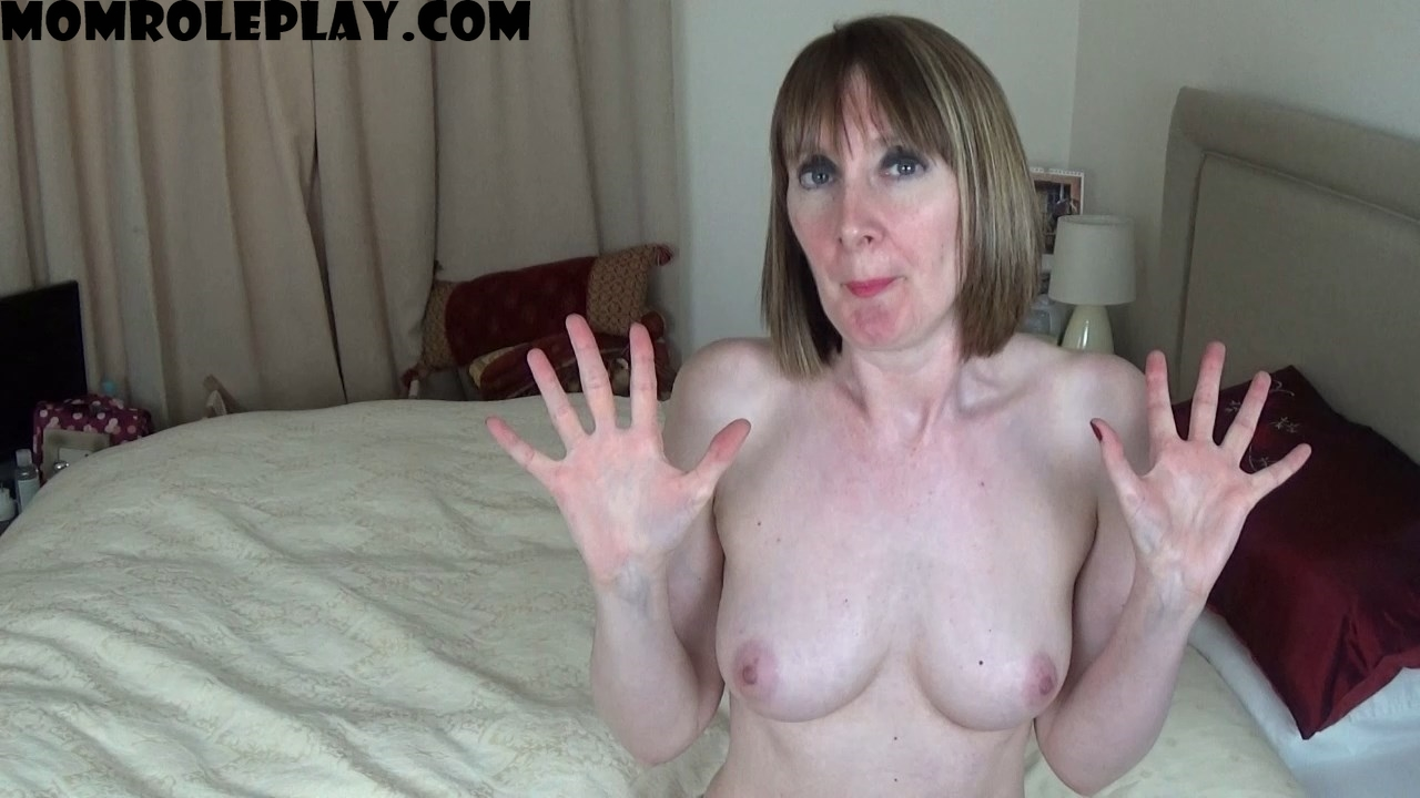 Anna's Fetish Store - Mom & Son Taboo - Son Gets Mommy Wet, In More Ways Than One... - MP4