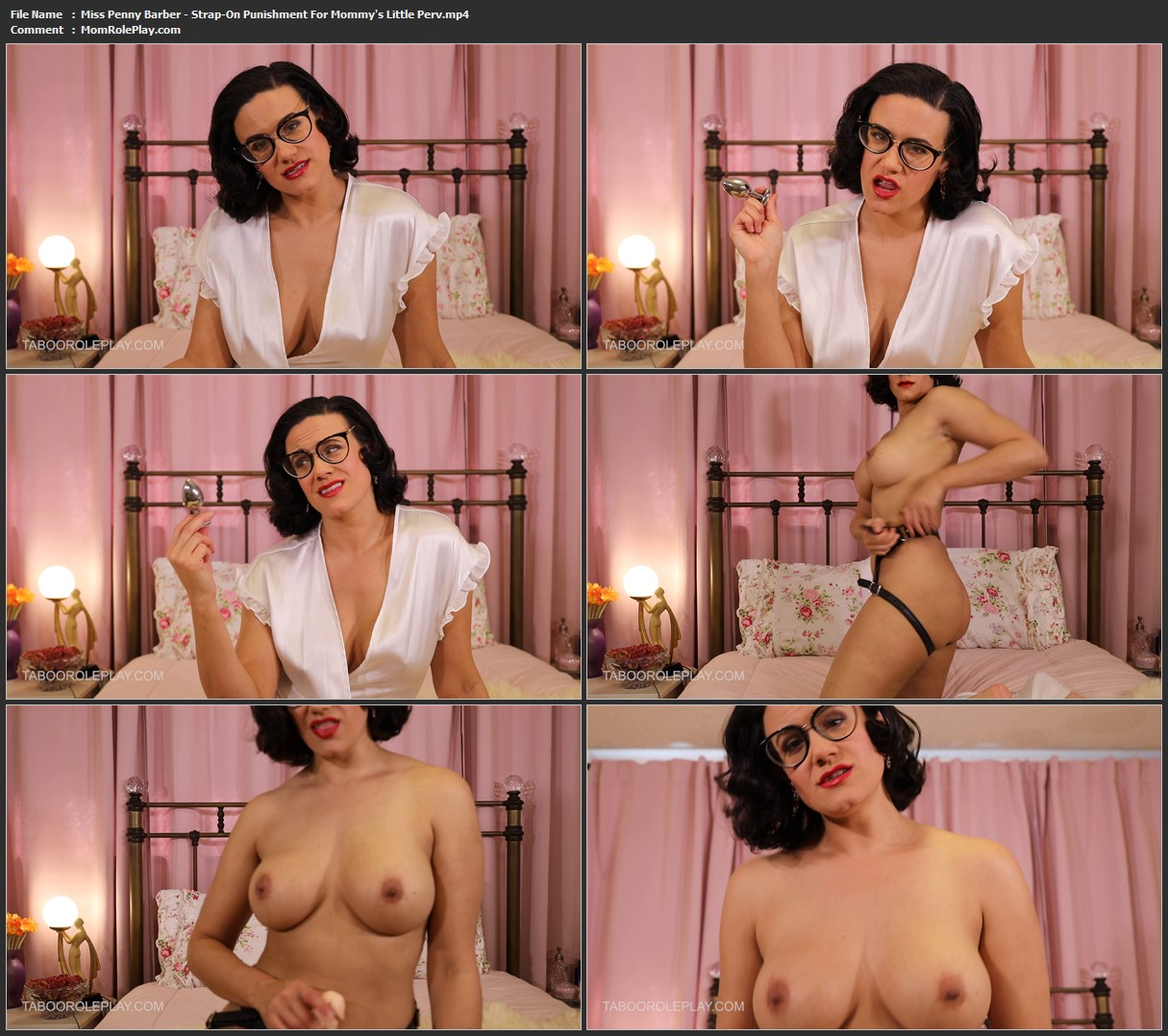 Miss Penny Barber - Strap-On Punishment For Mommy's Little Perv