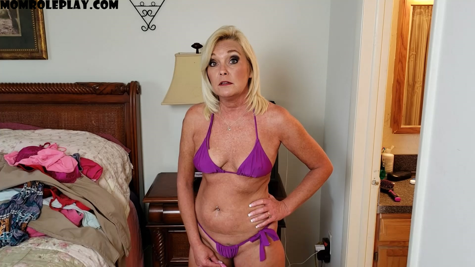 Ms Paris Rose - Mommy Son and Daughter's Panties 1080p