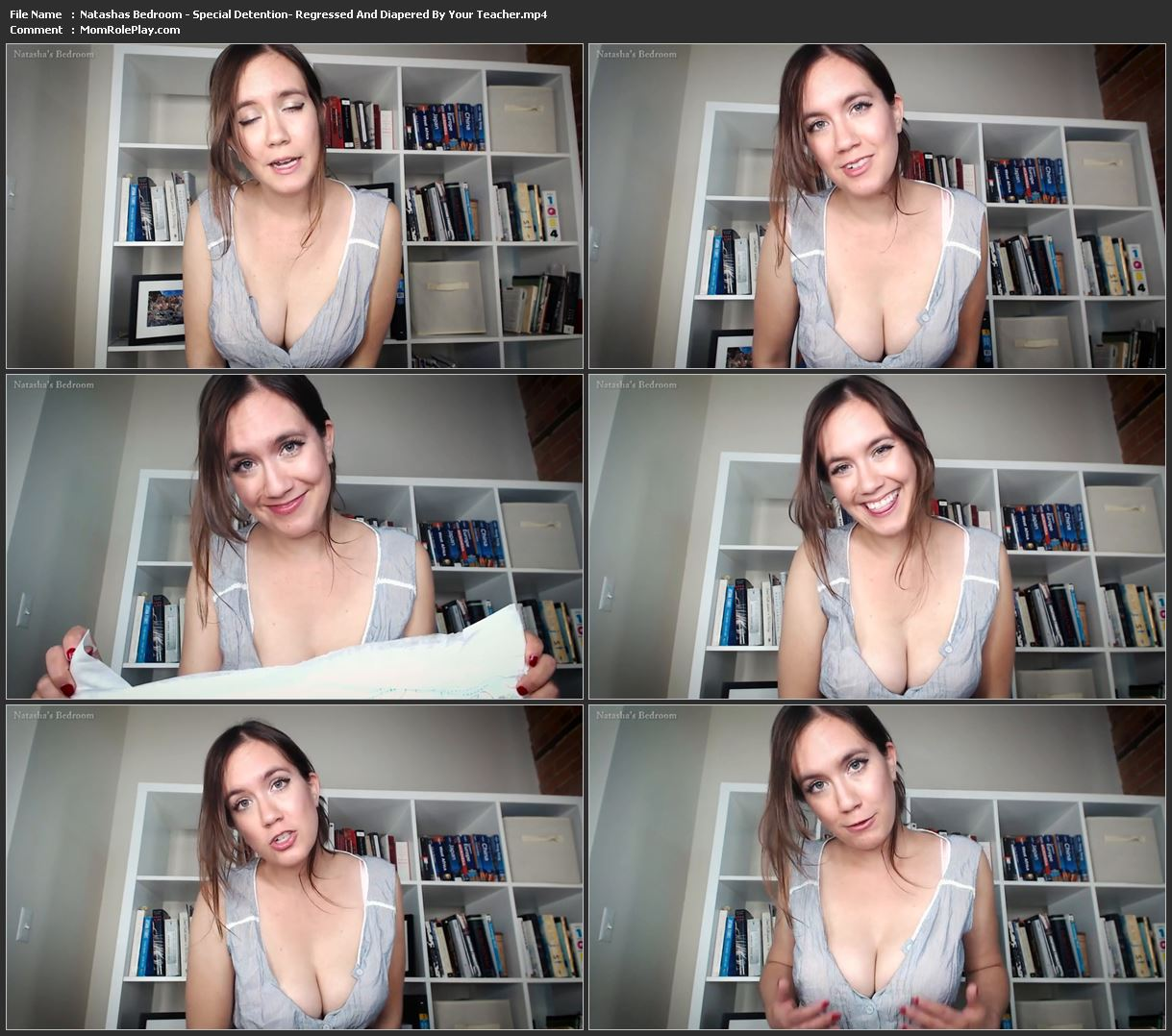 Natashas Bedroom - Special Detention: Regressed And Diapered By Your Teacher