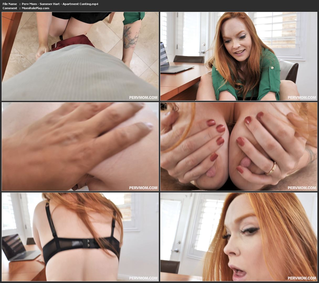Perv Mom - Summer Hart - Apartment Cunting 1080p