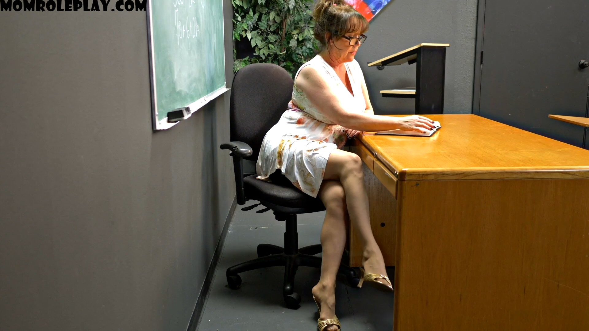 Perversion Productions - Cum For Teachers Feet - Feat. Mrs. Kandi Cox