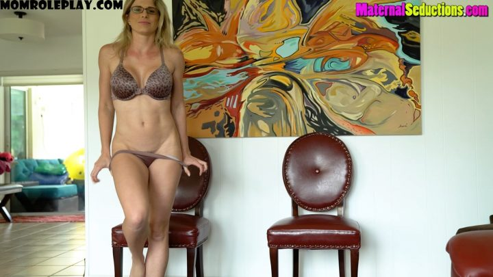 Cory Chase - Son Cums of Age - Scene One: Don't Say Anything, Scene Two: Fuck Me Don't Kiss Me, Scene Three: Treat Me Like a Whore