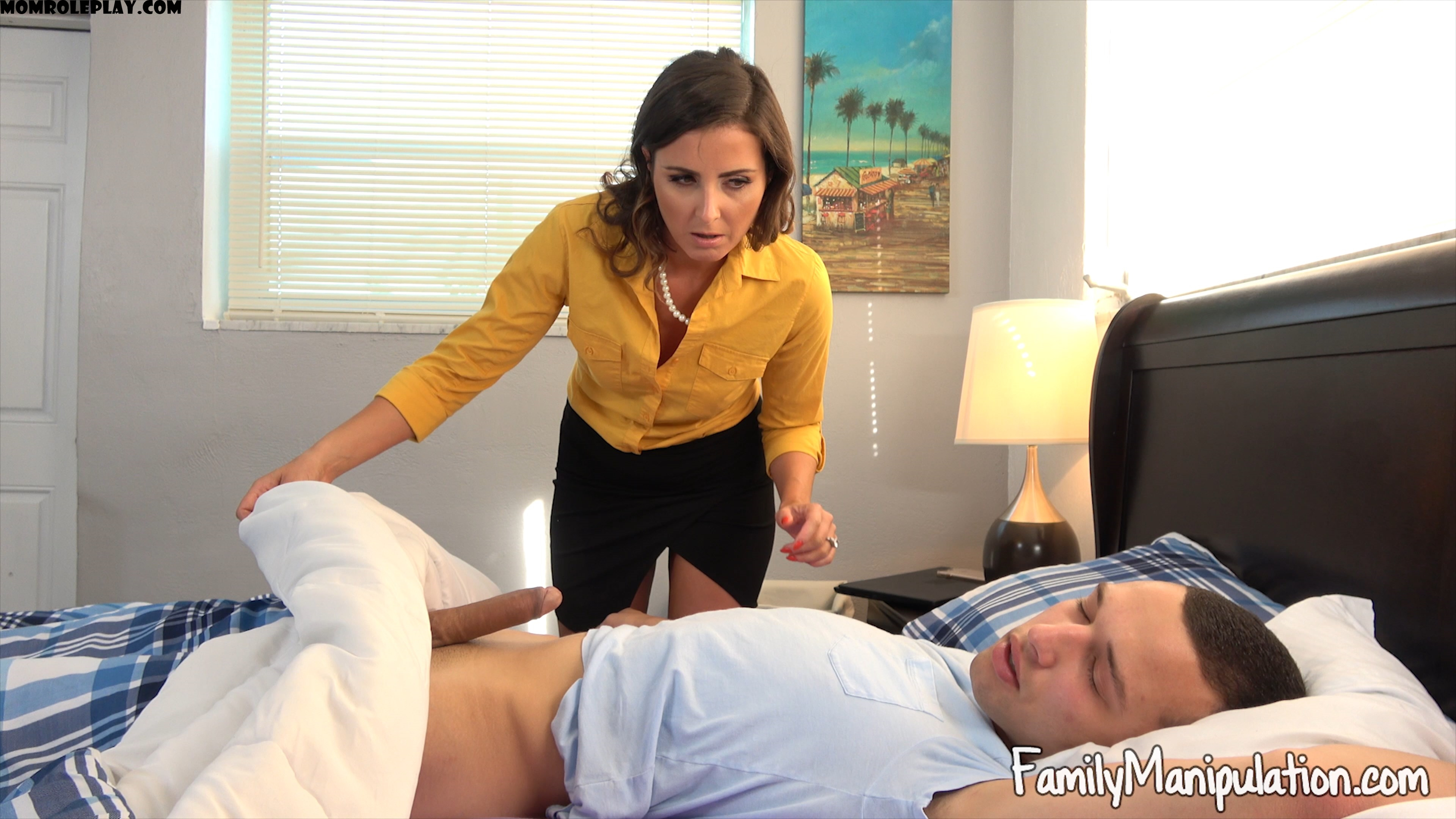 Family Manipulation - Helena Price - Horny Mommy Consoles Heart Broken Son