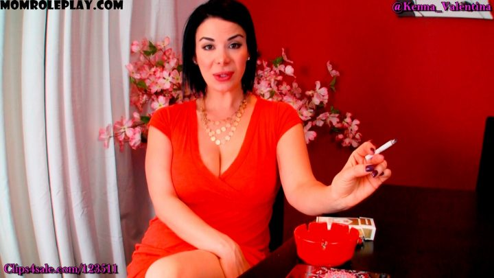Kenna Valentina – Mommy Smokes So You Can Indulge In Your Fantasy 1080p