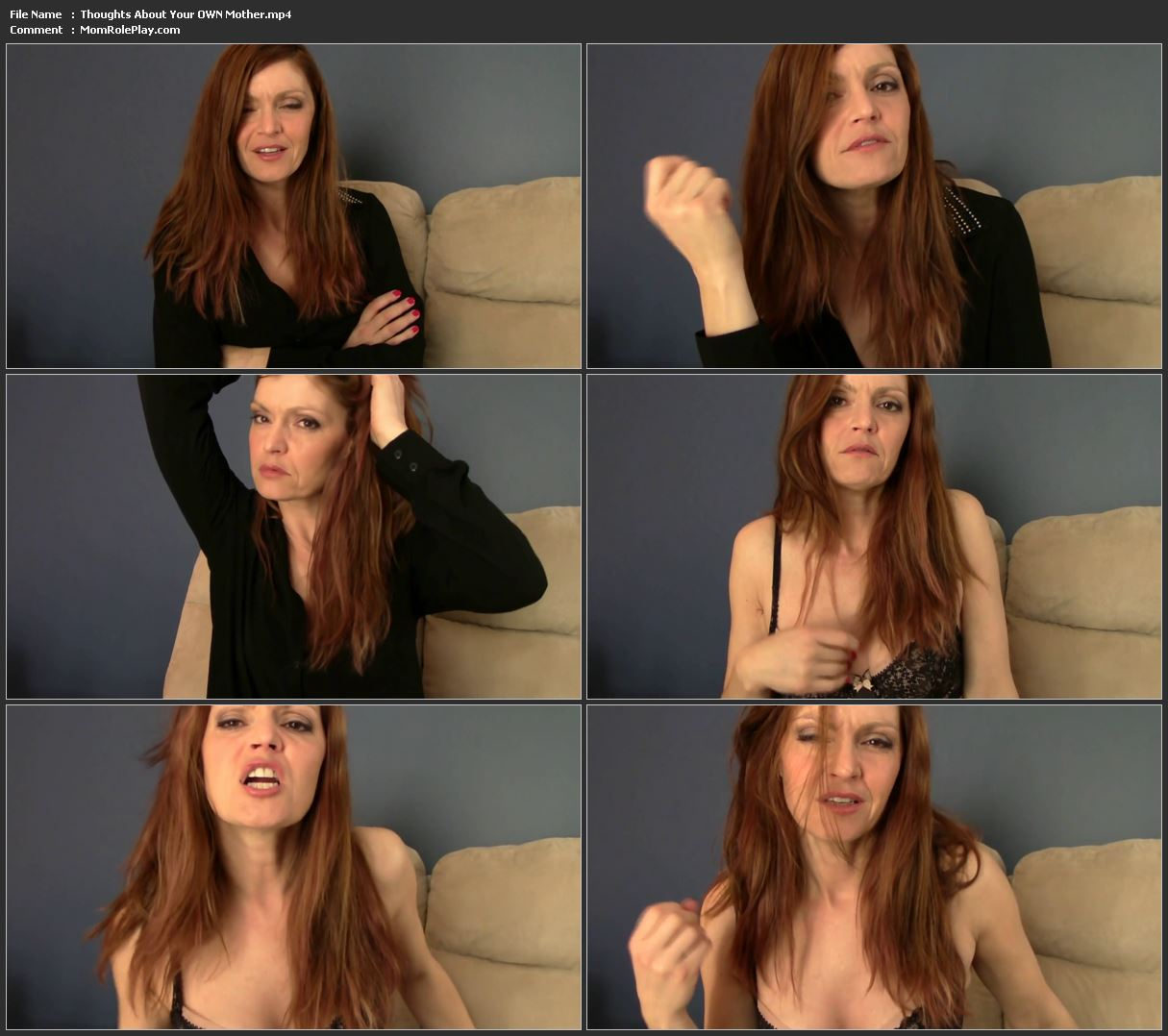 Taboo Mom Natasha - Thoughts About Your OWN Mother