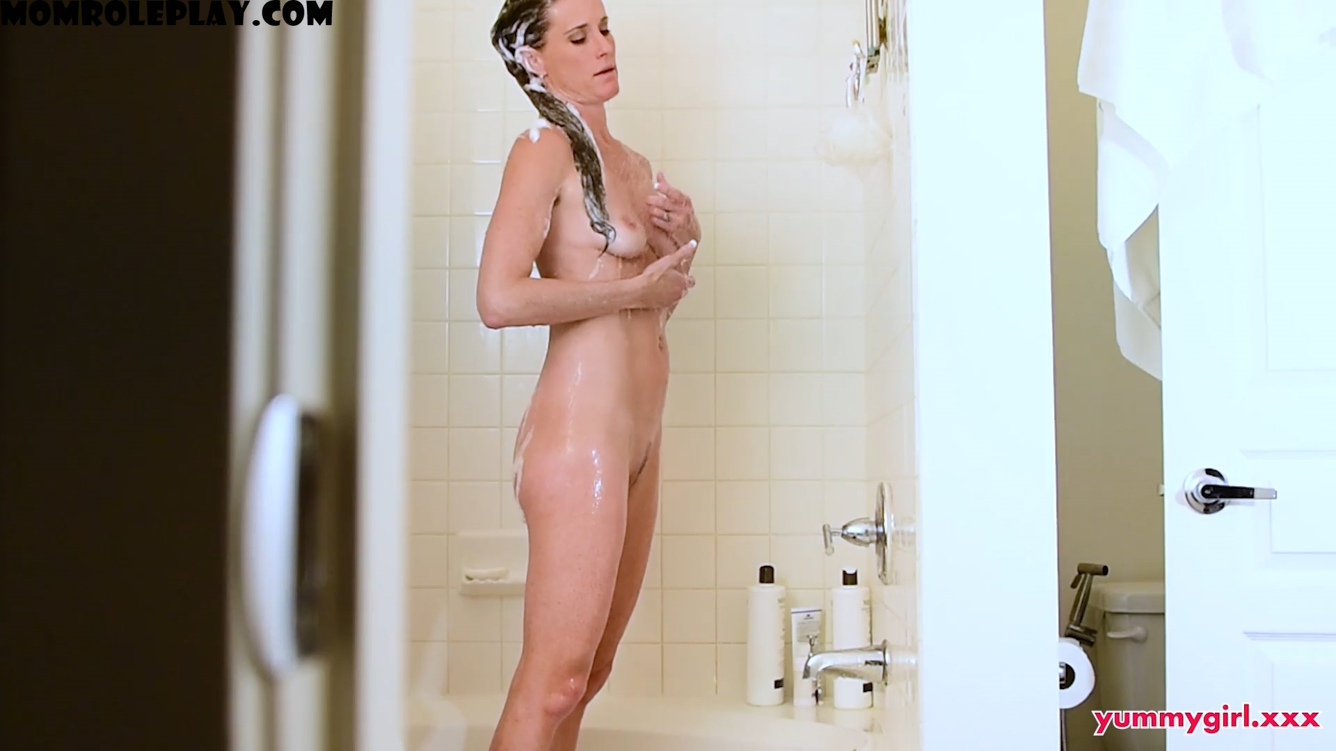 Yummysofie - Sofie Marie - Yummy Step Mom I watched Mommy Shower