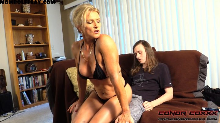 Conor Coxxx Clips – Son Fun In Mum's Bum – Amanda Verhooks – FullHD 1080p