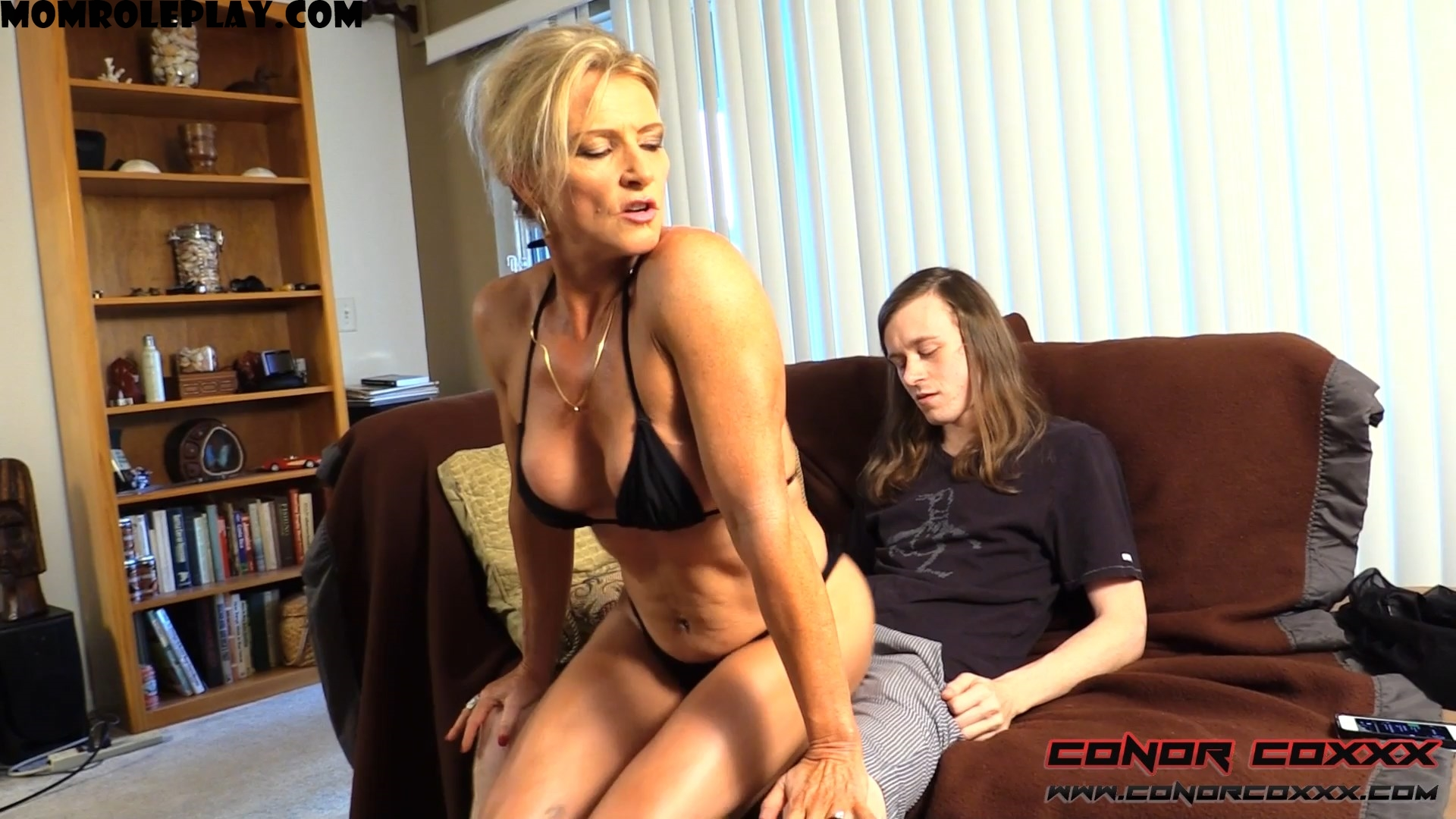 Conor Coxxx Clips - Son Fun In Mum's Bum - Amanda Verhooks - FullHD 1080p