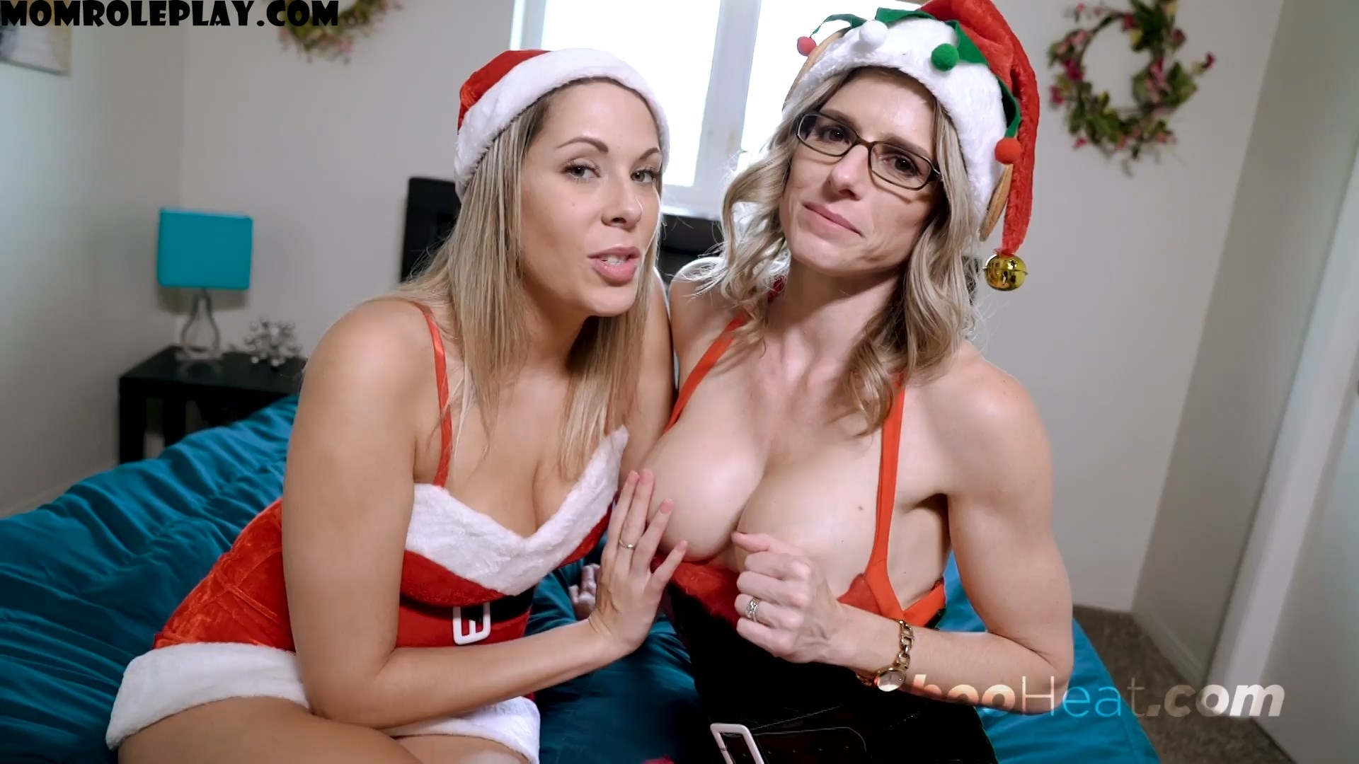Nikki Brooks & Cory Chase - Mommy Son Christmas 1080p