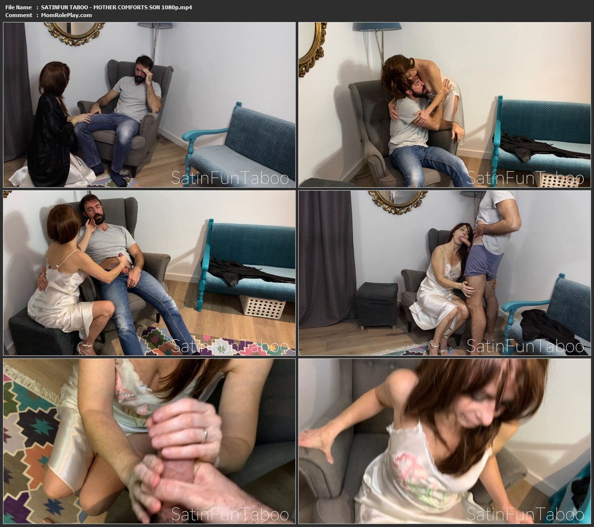 SATINFUN TABOO - MOTHER COMFORTS SON 1080p