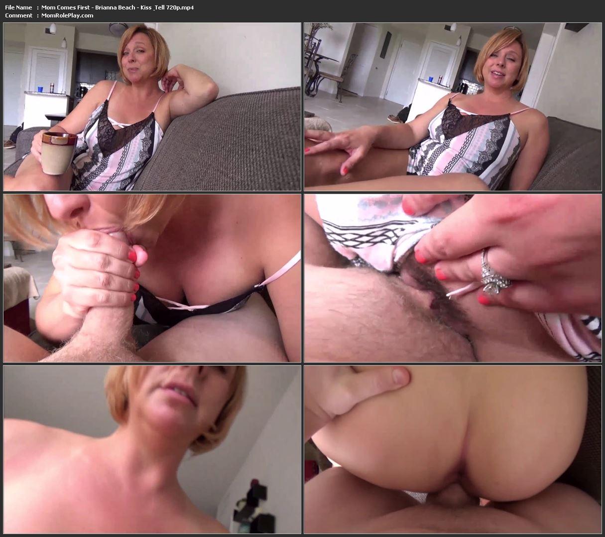 Mom Comes First - Brianna Beach - Kiss & Tell 720p