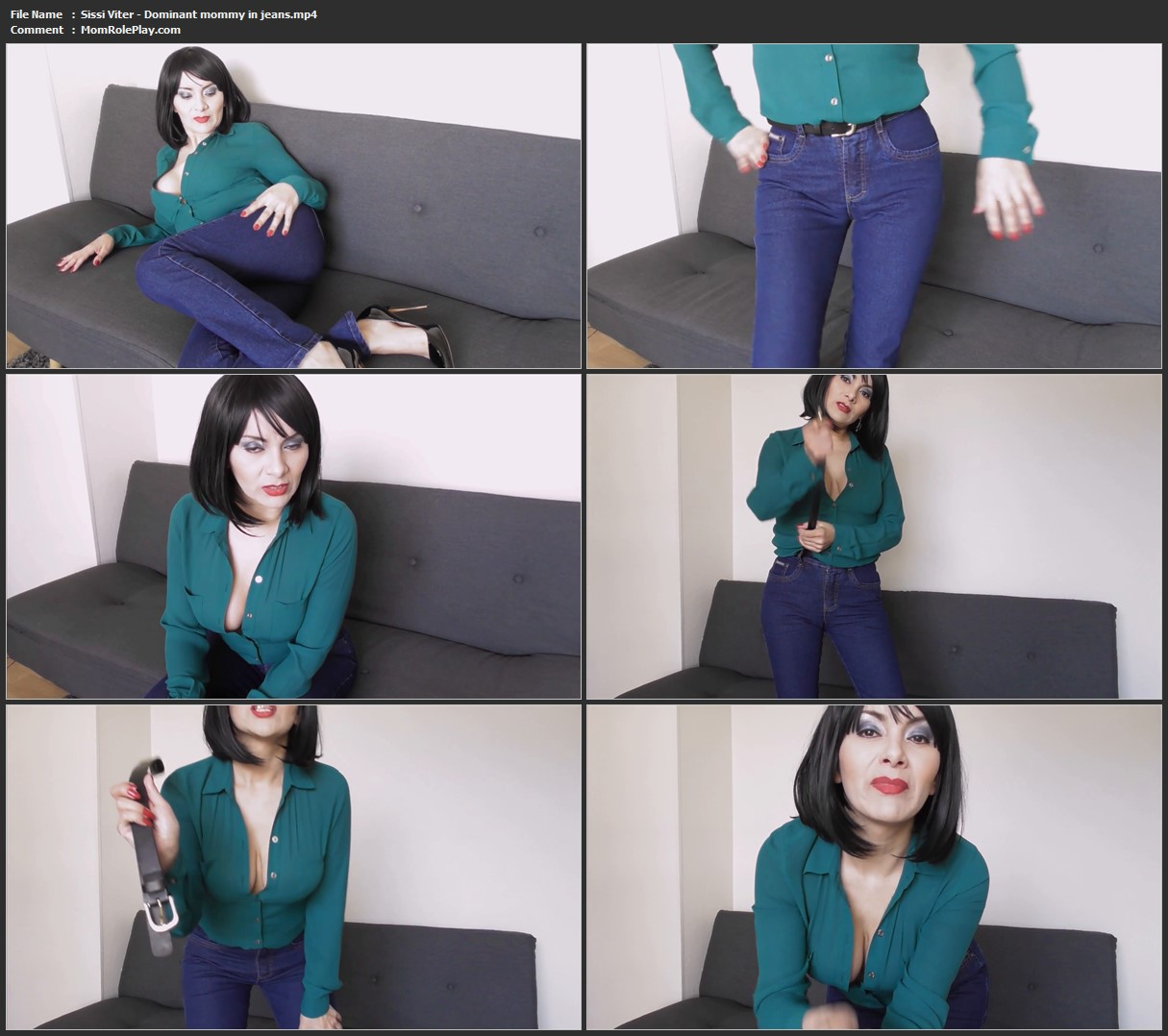 Sissi Viter - Dominant mommy in jeans