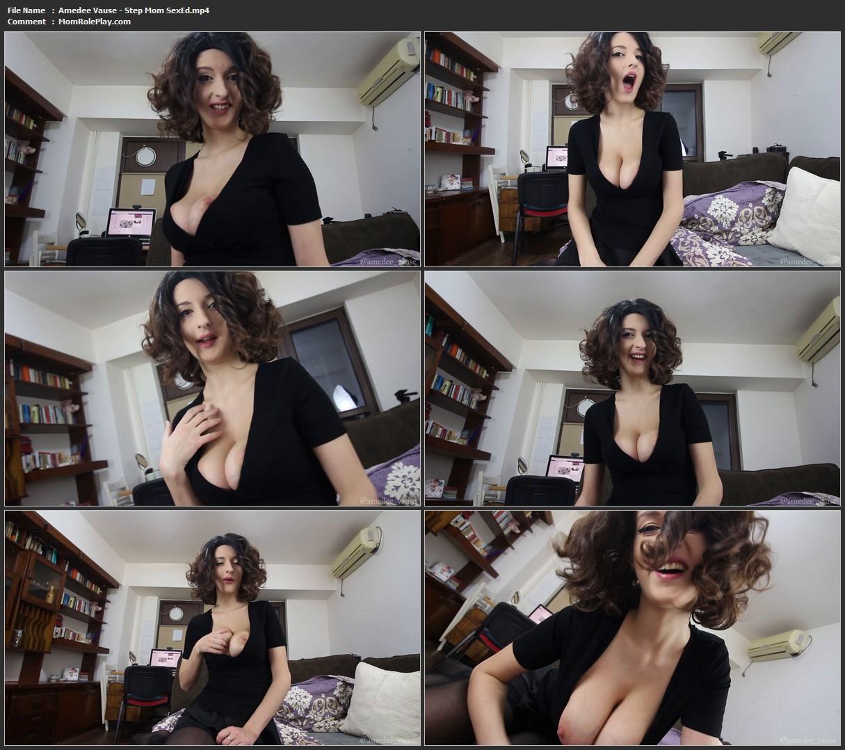 Amedee Vause - Step Mom SexEd