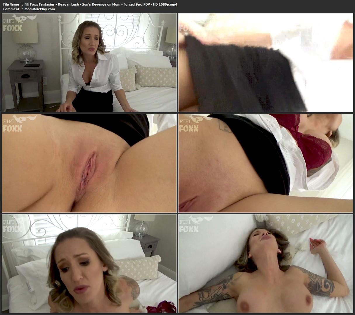 Fifi Foxx Fantasies - Reagan Lush - Son's Revenge on Mom - Forced Sex, POV - HD 1080p