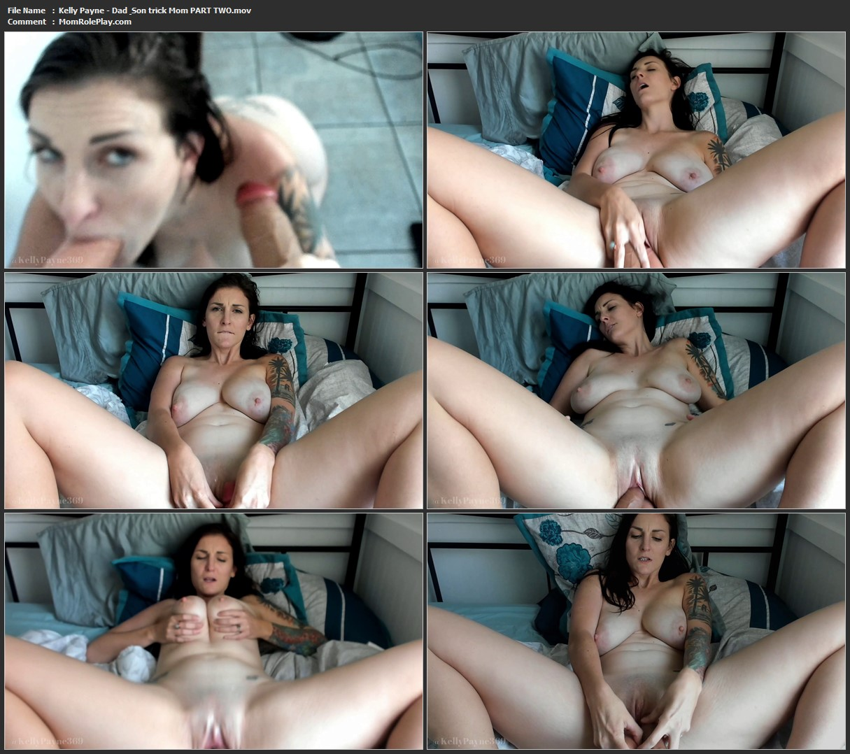Kelly Payne - Dad & Son trick Mom PART TWO