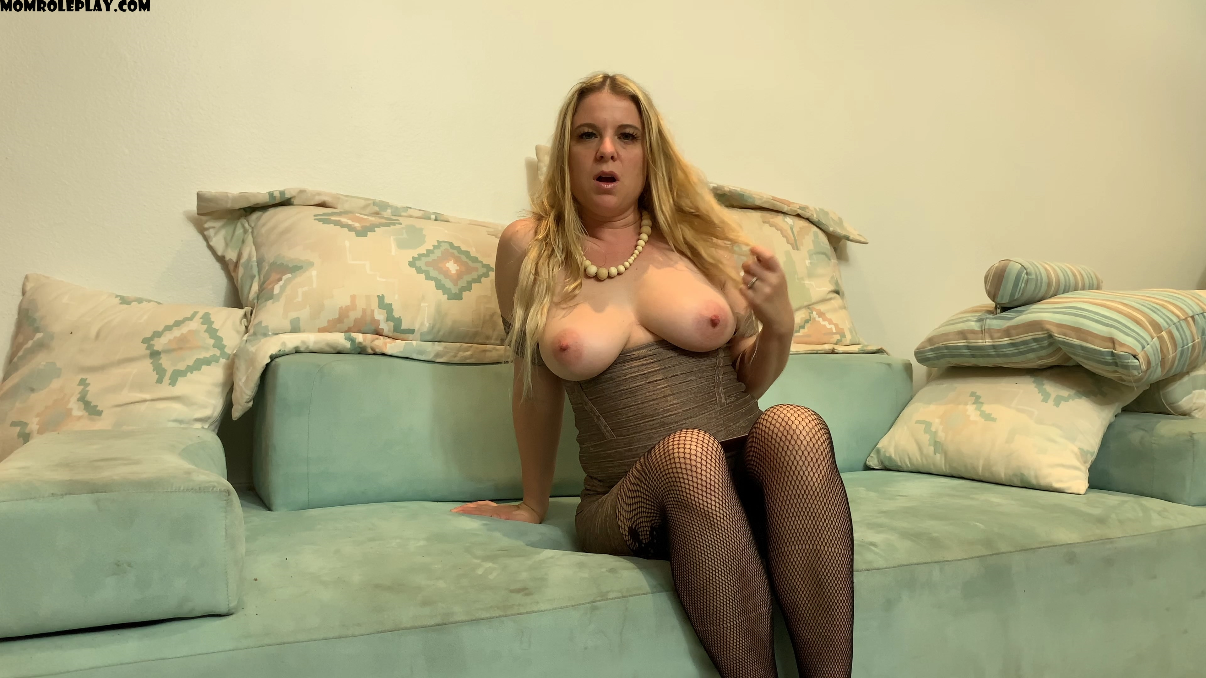 Erin Electra - Caring stepmom dirty talks JOI Solo POV