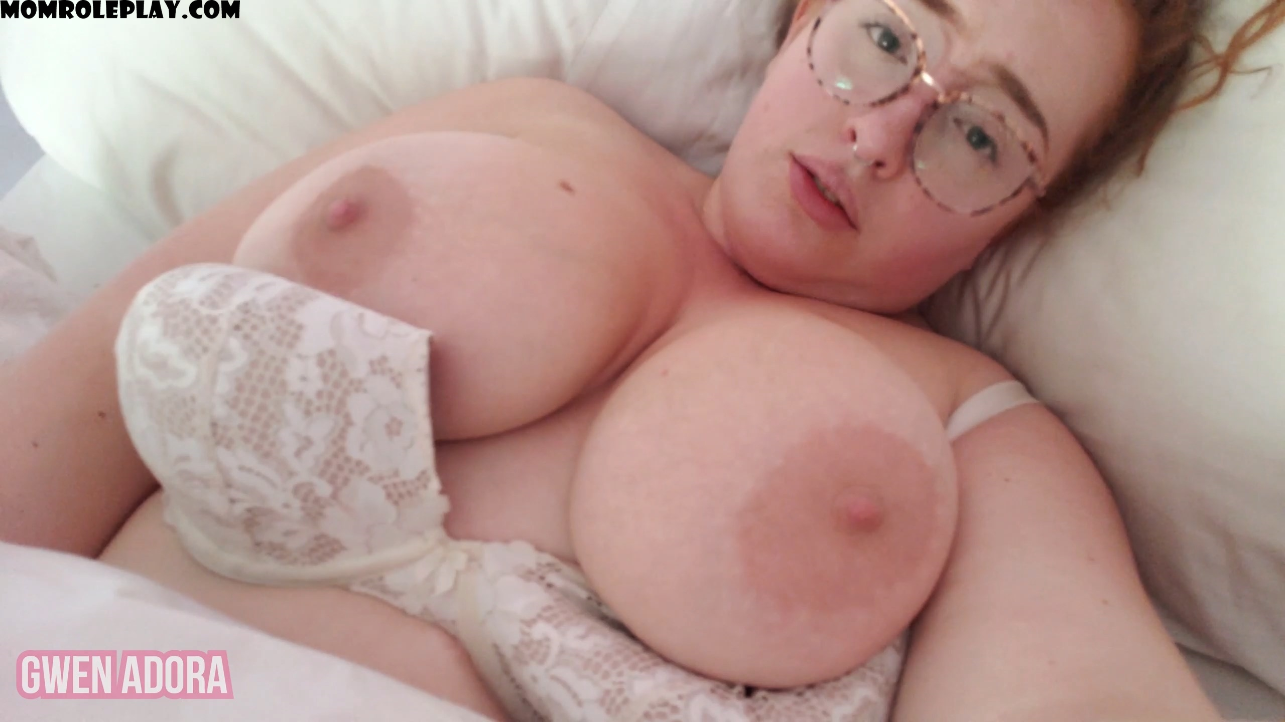 Gwen Adora - Suckle Mommy's Big Boobs Before Bed JOI