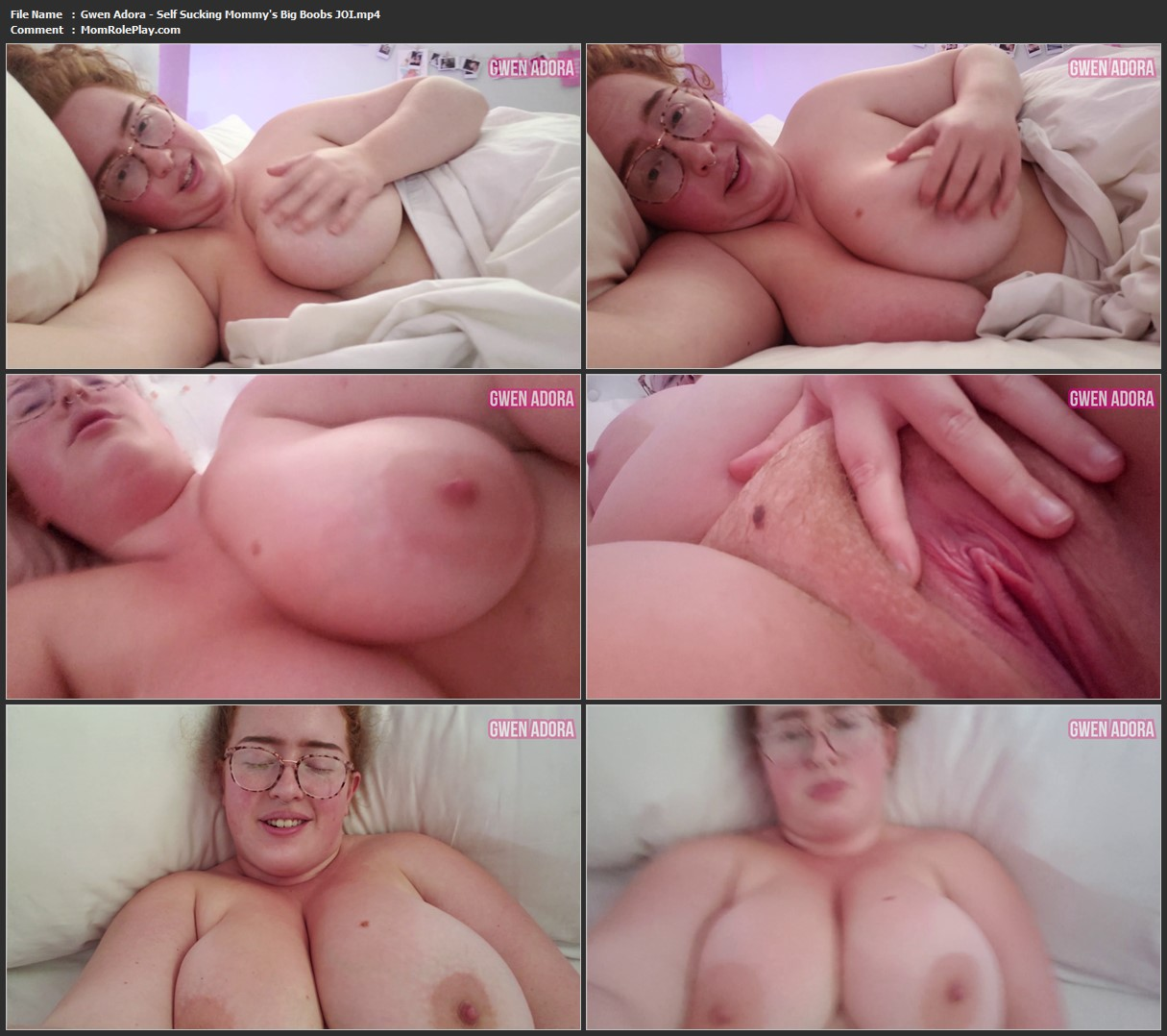 Sucking Mommys Big Tits