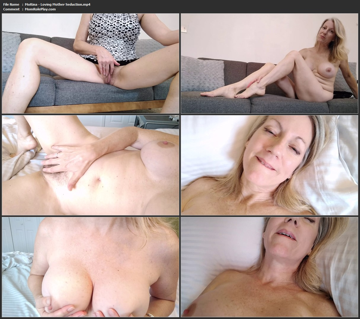MoRina - Loving Mother Seduction