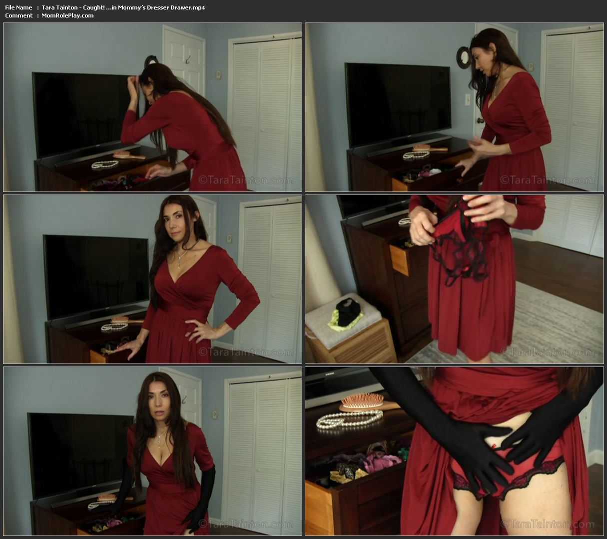 Tara Tainton - Caught! …in Mommy's Dresser Drawer