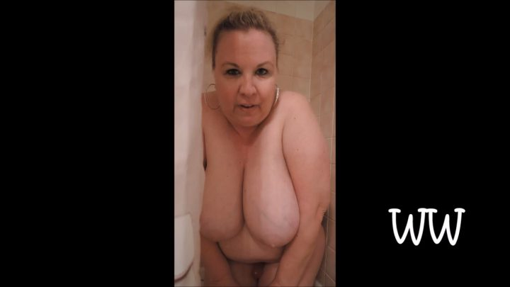 Wyoming Wynters – Dom Mom Does Son w/ Strap On in Shower