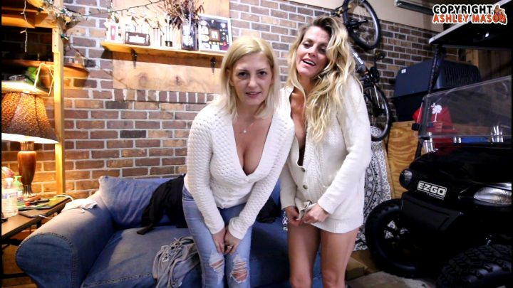Ashley Mason and Scarlett – The Garage Sale