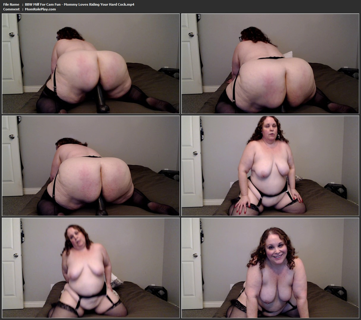 BBW Milf For Cam Fun - Mommy Loves Riding Your Hard Cock