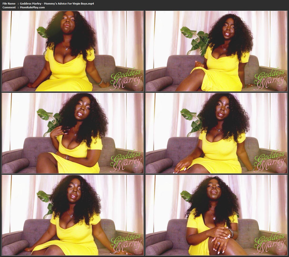Goddess Marley - Mommy's Advice For Virgin Boys