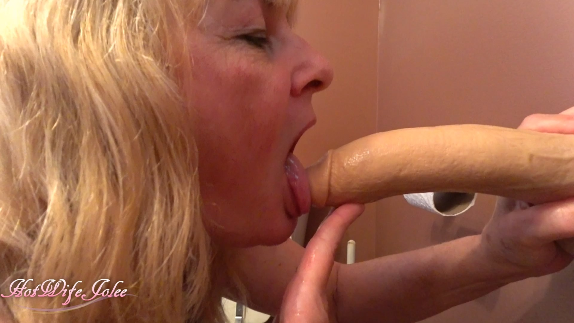 Hot Wife Jolee - Mom gives son head