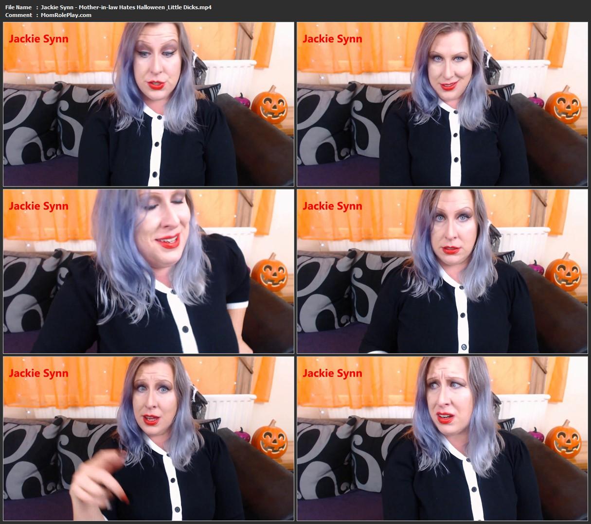 Jackie Synn - Mother-in-law Hates Halloween & Little Dicks