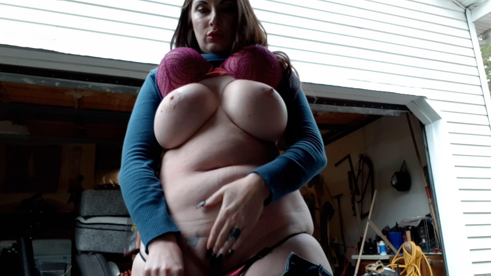 Mizz Erotique - Giving My Moms Neighbors A loud cum Show