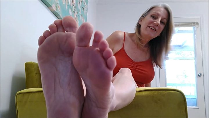 School Teacher Feet Tickle