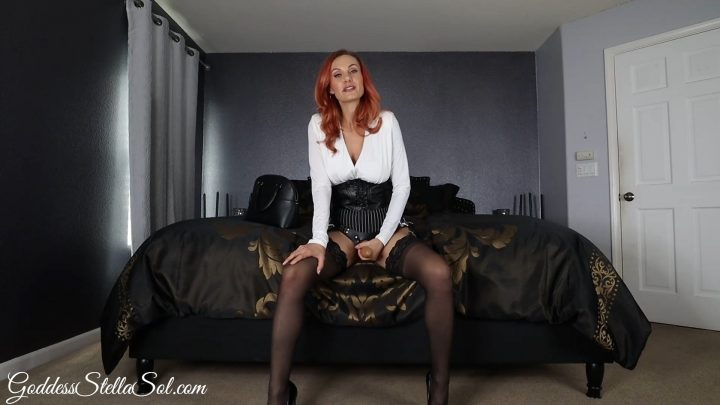 Goddess Stella Sol – StepMommy Strap-On Tease and Denial